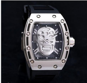 new Men discount Big Bang brand sports fashion leisure quartz watches quality precise luxury positioning solid steel band ghost watches