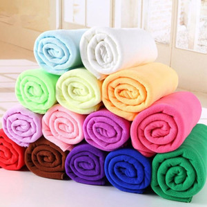 Wholesale 25 cm Microfiber Car Cleaning Towel Microfibre Detailing Polishing Scrubing Waxing Cloth Hand Towel