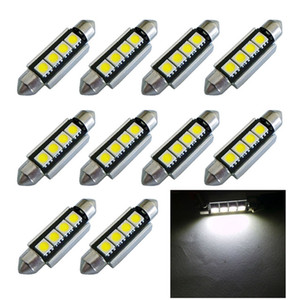 Wholesale 10pcs High Quality mm c5w MD LED Canbus NO Error Free Car Interior Festoon Dome Light Auto Reading Lamps Bulb white V