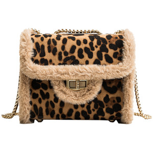 Sarine Classic PU Leather Leopard chain Free shipping hot sell Wholesale retail Hot bags handbags shoulder bags tote bags mess on Sale