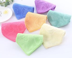 Wholesale Microfiber Square Towel Soft Fiber Face Hand Car Cloth Towel House Cleaning Towel Multi Colors cm