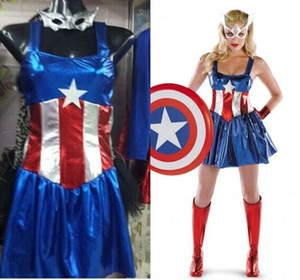 Wholesale New Fancy Marvel Woman Costume Sexy Cosplay Halloween Female Adult Costume Mask