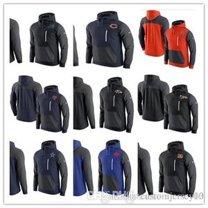 Athletic Outdoor Wear Jackets Cardinals Ravens Bills Panthers Bears Bengals Browns Cowboys AV15 Fleece Pullover Hoodie on Sale