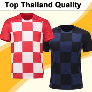 Wholesale 2018 World Cup MODRIC KOVACIC Soccer Jerseys PAKITIC PERISIC Mens Football Kit Shirts Top New National Team Home Away Jersey Uniforms