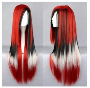 Wholesale Gradual change COS original home wind Cosplay wig color female long straight hair headset Lolita