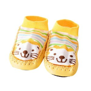 2017 spring autumn girls shoes princess Cartoon Kids Toddler Baby Anti-slip Sock Shoes Boots Slipper Socks 17Dec26