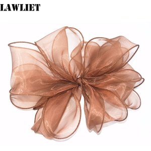 Wholesale 2pcs Wide Organza trimming Ribbon for fascinator hat millinery making Gift Wrap Ribbon Decoration Ribbons B059