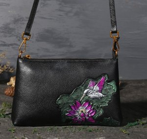 Peony lotus bag rose classical embossed flower shoulder wholesale Kingfisher sunflower bags cross body handbag women purse SP Fr US EUR on Sale