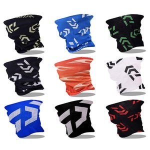 Wholesale Angling Neck Sleeve Man Woman Summer Riding Fishing Sunshade Outdoors Sports Magic Scarf Hat Mask Scarves Caps js bb
