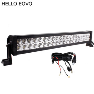 Wholesale hello kit resale online - HELLO EOVO Inch W LED Light Bar Wiring Kit for Indicators Work Driving Offroad Boat Car Truck x4 SUV ATV Fog Combo