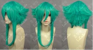 Wholesale Gumi Long Onion Green Cosplay Anti Alice Wig