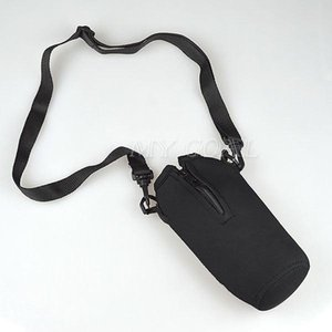 Wholesale ML Water Bottle Bag Insulated Cover Holder Picnic Drinks Carrier With Strap