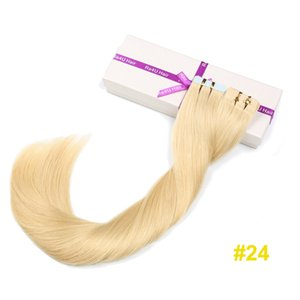 Wholesale Tape hair Extension Remy ShowJarlly Luxury Factory Direct Hair Extension Fashion Silky Straight Wave Long Tape in Extension
