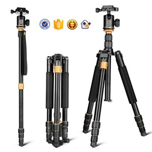 Wholesale DHL Q999S kaamera statiivile aluminum digital camera tripod better than Q666 Q999 fit for camcorder folded mm