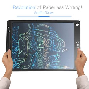 Wholesale 10 Inch Colorful LCD Writing Tablet Drawing Toys Erase Drawing Tablet Electronic Paperless Handwriting Pad Kids Writing Board Gifts