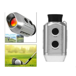 Wholesale New and hot Laser Rangefinder Golf Hunting Measure Telescope Digital Monocular Distance Meter tester range Finder digital x golf scope