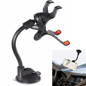 Wholesale Universal in Car Windscreen Dash board Holder Mount Stand For iPhone Samsung GPS PDA Mobile Phone Black