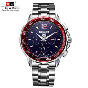 TEVISE Automatic Mechanical Watches Men Self Wind Auto Date Month Week Stainless Steel Luminous Analog Wristwatches 356 D18101002