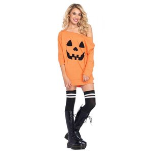 Wholesale 2018 New Creative Halloween Print Costume Fancy Hoodies Party Funny Dress Up Props