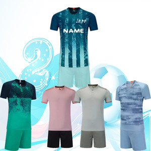 Wholesale 18 club football clothes training clothes short sleeved clothes processing name and number and LOGO Free Delivery
