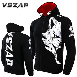 Wholesale VSZAP GIANT Hoodie long sleeved vest UFC combat coat MMA movement training and fitness