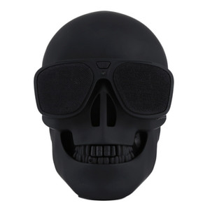 Skull Player Wireless Bluetooth Speaker Sunglass speaker Mobile Subwoofer Multipurpose Speakers Cool For Smart Android phone