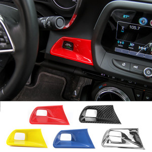 ABS Engine Key Start Stop Button Trim Decoration Cover For Chevrolet Camaro 2017 Up Car Styling Interior Accessories