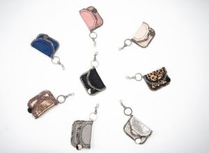 Wholesale 2018ss Fashion phone chain hand coin bag high quality factory outlet material pvc mini st tide personality purse high-top mini key chain bag