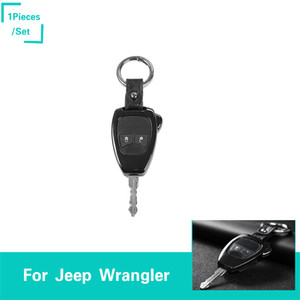 Wholesale black jeep patriot for sale - Group buy Aluminum Alloy Black Car Keys Protection Shell Fit Jeep Wrangler Guide Patriot Auto Interior Accessories