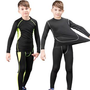 New Winter Thermal Underwear Kids Quick Dry Warm Long Johns Set Child Warm Fitness Thermo Underwear Set Tights Winter Clothes