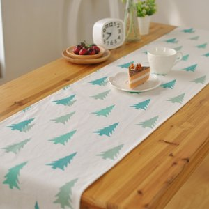 Wholesale Korean fresh tablecloths decorated hotel cafe cloth table runner napkin factory direct high grade foreign trade