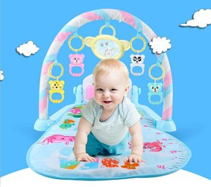 Wholesale New Multifunction Soft Baby Play Mat Activity Piano Pedal Fitness Frame Music Bed Bell Pay Gym Toy Floor Crawl Blanket Carpet