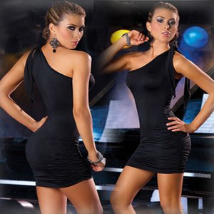 Sexy lingerie v-neck gown fat MM bigger sizes nightclub dress backless clubs in Europe and America