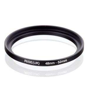 Wholesale filter photography RISE(UK) 48-52 48 MM - 52 MM 48 to 52 Step up Ring Filter Adapter hot salefreeshipping