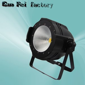 1pcs lot Led Par Light COB 100W Integrated Uniform Led Floor Stage Panel Light High Power Warm Yellow Party Disco Cans