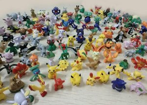 Wholesale 144 Style Japanese Pocket Monster figures mini charizard figurine figuras doll for kids party supply