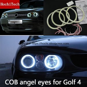 Wholesale High Quality COB Led Light White Halo Led Angel Eyes Ring Error Free For VW Golf golf4 MK4 R32 GTi VR6