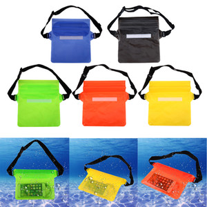 Wholesale Universal Waist Pack Waterproof Pouch Case Water Proof Bag Underwater Dry Pocket Cover For Cellphone mobile phone Samsung iphone