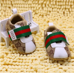 Wholesale High Quality Baby Girls Boys Shoes Canvas Newborn First Walker Shoes Soft Sole Anti slip Infant Moccasins