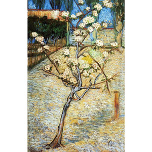 Wholesale canvas art oil painting blossom for sale - Group buy Famous Vincent Van Gogh Oil paintings reproduction hand painted Pear Tree in Blossom Canvas art