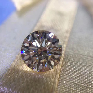 0.1Ct~8.0Ct(3.0MM~13.0MM) G H Color VVS Clarity Round Brilliant Synthetic Lab Grown Certified Diamond Moissanite Diamond Test Positive