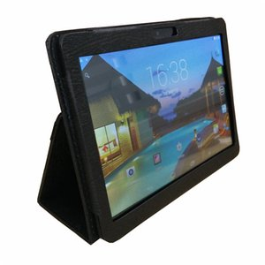 "Wholesale Leather case for 10"" 10.1 inch Samsung N9106 MTK6572 MTK6582 MTK6589 MTK6592 tablet phone 3G tablet PC general case I-PT"
