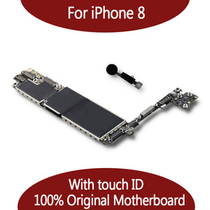 For iPhone 8 64GB 128GB Motherboard With Fingerprint IOS System,For iPhone 8 Logic Board Mainboard With Touch ID