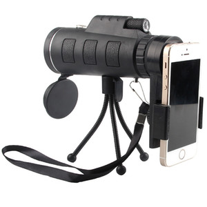 40X60 HD Monocular Telescope Cell Phone Adapter Included Best Hunting, Outdoor, Birding, Spotting Wildlife, Hiking