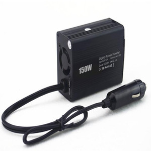 High Quality 150W Car Inverter Charger DC 12V To AC 110V 220V Car Power Converter With USB Charger Port Safety Car Invertor