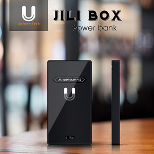 Wholesale Authentic Jili Box Portable Charging Case mAh As Power Bank for Juul Vape Pen Juul Pods Starter Kit