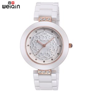 WEIQIN Brand High Quality Full Ceramic Women Watches Elegant Relojes Mujer 2018 Fashion Watch Women 3ATM Waterproof Montre FemmeS914 on Sale