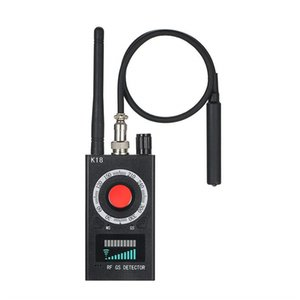 Wholesale New Wireless Signal Detector Anti Bug RF Detector K18 Mini Camera GSM Audio Bug Finder GPS Signal Lens RF Tracker