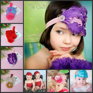 Wholesale Childrens Accessories Hair Flowers Crochet Headbands Baby Hair Accessories Girls Headbands Children Hair Accessories Kids Baby Headbands