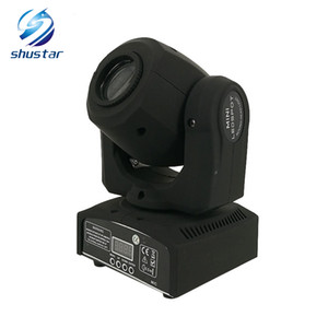 LED 8colors 10W 30W spots Light DMX Stage Spot Moving 8   11 Channels Mini LED Moving Head follow lighting for DJ Effect lights Dance Disco on Sale
